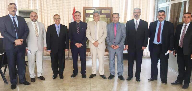 زيارة رئيس مجلس محافظة بغداد الدكتور رياض العضاض الى نقابة اطباء العراق