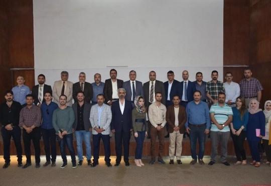 لقاء السيد نقيب اطباء العراق مع اطباء التخدير