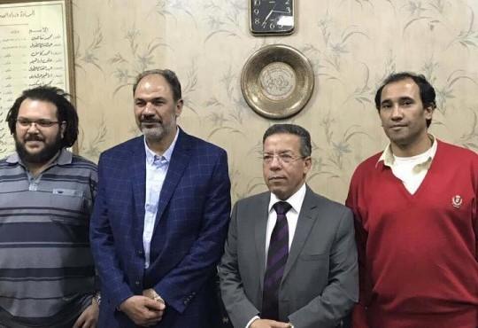 أنماء الروح النقابية ودعم العمل النقابي مع اتحاد الأطباء العرب