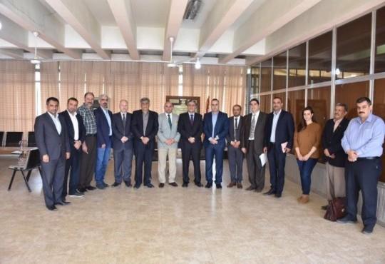 لقاء السيد نقيب اطباء العراق مع رئيس فرع بغداد واعضاء المجلس