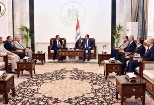 وفد النقابة يلتقي النائب الاول لرئيس الجمهورية
