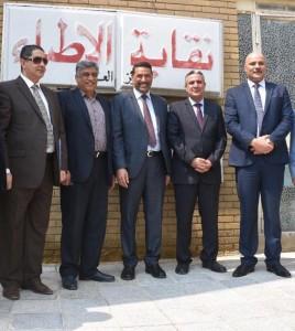 زيارة الدكتور هاني موسى بدر عضو البرلمان ونائب رئيس لجنه الصحة والبيئة في مجلس النواب العراقي
