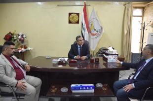 نقيب اطباء العراق يستقبل رئيس واعضاء فرع نقابه اطباء بابل