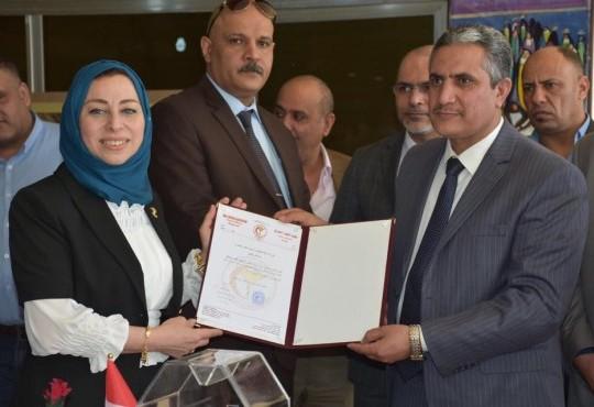افتتاح المعرض الفني للفنانة والطبيبة الدكتورة صبا غالب