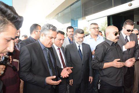 مراسم تشييع الشهيد الدكتور سليم عبد الحمزة