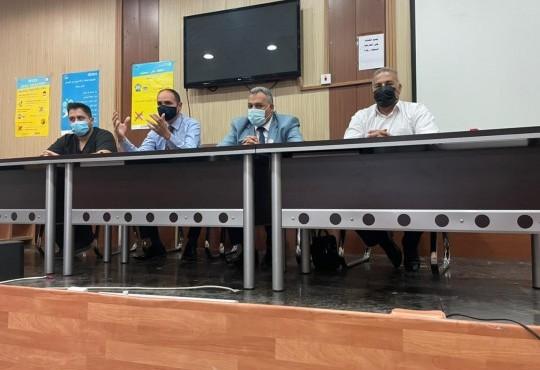 نظمت نقابة الأطباء فرع كركوك إجتماعا مع الأطباء المقيمين في مستشفى كركوك