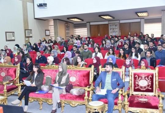 أقامت نقابة الاطباء العراقيين-المركز العام صباح اليوم الثلاثاء الموافق 12-12-2017 دورة السلوك المهني الطبي