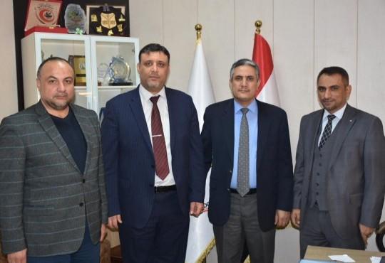 زار السيد رئيس لجنة الصحة والبيئة في مجلس محافظة كربلاء المقدسة الدكتور (علاء عبدالواحد الغانمي)