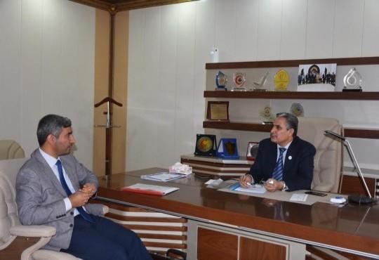 زيارة الاستاذ علي غركان عضو مجلس النواب العراقي