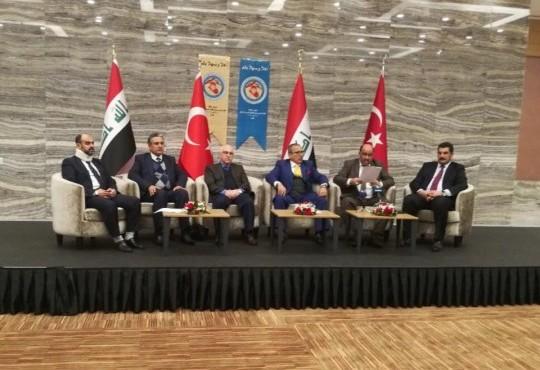 نقيب اطباء العراق الدكتور ((عبد الامير محسن حسين)) يشارك في المؤتمر الثالث للتضامن الصحي من اجل العراق