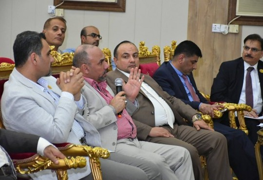 عُقد صباح اليوم الجمعة الموافق ٢٠ نيسان ٢٠١٨، المؤتمر العام السنوي لنقابة أطباء العراق في المركز العام