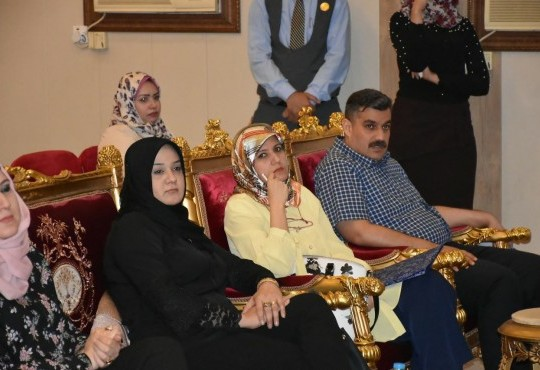 حضر السيد نقيب أطباء العراق الدكتور (( عبد الأمير محسن حسين )) و النائب الاول للنقيب الدكتور