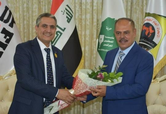 زيارة نقيب اطباء العراق الى نقيب الصحفيين