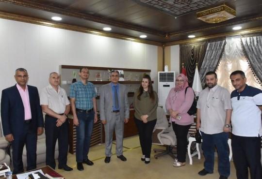 نقيب اطباء العراق يلتقي لجنة أطباء الأسره لفرع بغداد