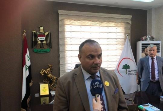 الوفد النقابي يلتقي مدير صحة نينوى