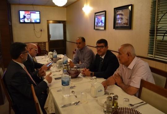 نقابة أطباء العراق-فرع البصرة تتابع تطورات أزمة تلوث المياه