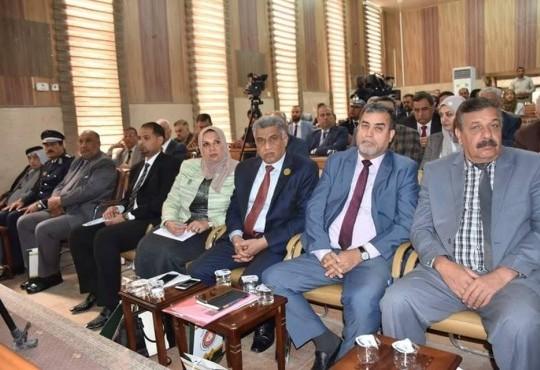 حضر النائب الأول لنقيب أطباء العراق الدكتور (منتظر الفضلي) المؤتمر العلمي الخامس الذي أقامته جمعية المنتدى الوطني لأبحاث الفكر والثقافة