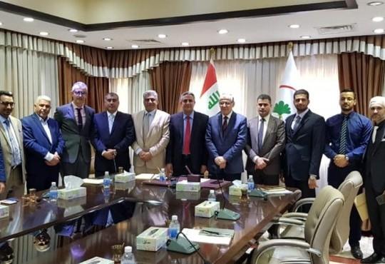 التقى وفد النقابة برئاسة السيد نقيب أطباء العراق د.عبدالامير محسن مع معالي السيد وزير الصحة صباح هذا اليوم في مقر الوزارة