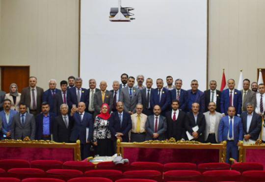 فرع البصرة يشارك في المؤتمر العام الاعتيادي لنقابة أطباء العراق