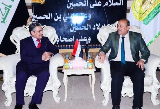 دعوة رسمية من رئيس مجلس محافظة كربلاء لنقيب الاطباء الاستاذ الدكتور عبد الامير الشمري
